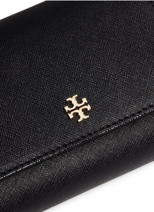 Detail View - Click To Enlarge - Tory Burch - 'Robinson' medium saffiano leather flat wallet