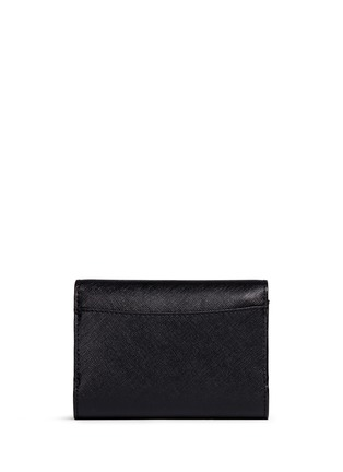 Back View - Click To Enlarge - Tory Burch - 'Robinson' medium saffiano leather flat wallet