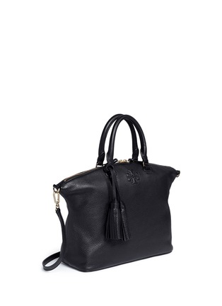 Front View - Click To Enlarge - Tory Burch - Thea' medium slouchy leather satchel