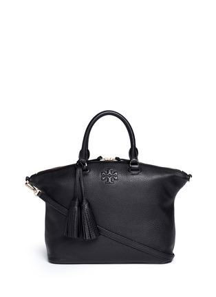 Main View - Click To Enlarge - Tory Burch - Thea' medium slouchy leather satchel