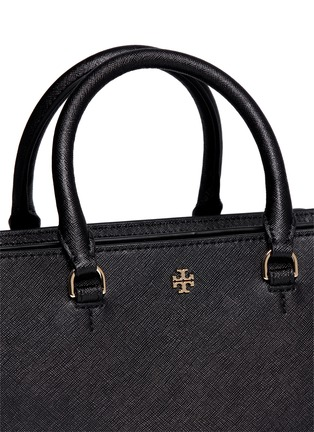 Detail View - Click To Enlarge - Tory Burch - 'Robinson' small leather zip tote