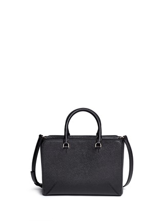 Back View - Click To Enlarge - Tory Burch - 'Robinson' small leather zip tote