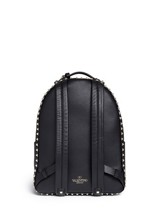 Back View - Click To Enlarge - Valentino - 'Rockstud' leather backpack