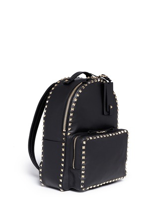 Figure View - Click To Enlarge - Valentino - 'Rockstud' leather backpack