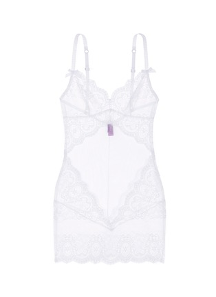 Main View - Click To Enlarge - L'AGENT - 'Vanesa' lace tulle slip