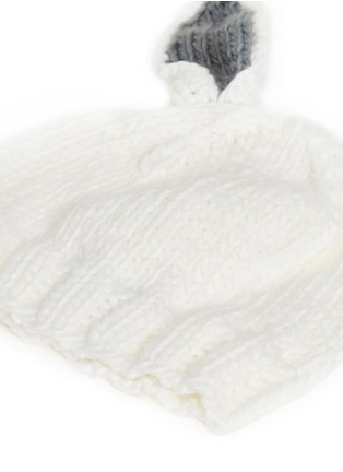Detail View - Click To Enlarge - THE BLUEBERRY HILL - 'Bailey' bunny ear kids beanie