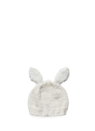 Figure View - Click To Enlarge - THE BLUEBERRY HILL - 'Bailey' bunny ear kids beanie