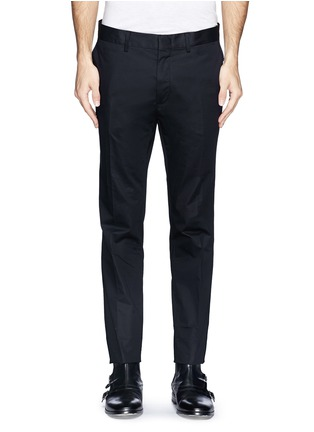 Main View - Click To Enlarge - Lanvin - Compact cotton satin chinos