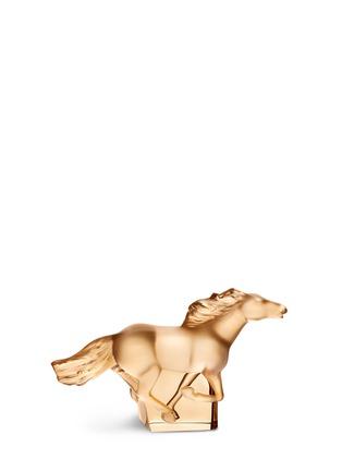 Main View - Click To Enlarge - Lalique - Kazak crystal horse sculpture