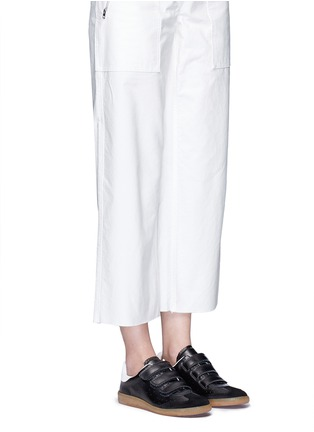 Figure View - Click To Enlarge - ISABEL MARANT ÉTOILE - 'Beth' suede panel leather sneakers