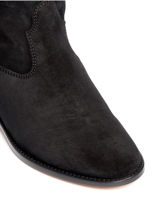 Detail View - Click To Enlarge - ISABEL MARANT ÉTOILE - 'Crisi' slouch cuff suede ankle boots