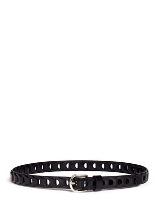 Main View - Click To Enlarge - Isabel Marant Étoile - 'Dash' cutout leather belt
