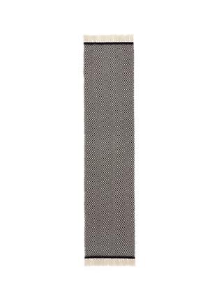 Main View - Click To Enlarge - Isabel Marant Étoile - 'Alena' fringed wool-cashmere herringbone scarf