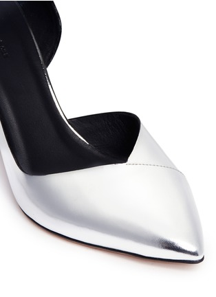 Detail View - Click To Enlarge - Isabel Marant Étoile - 'Palma' mirror leather d'Orsay pumps