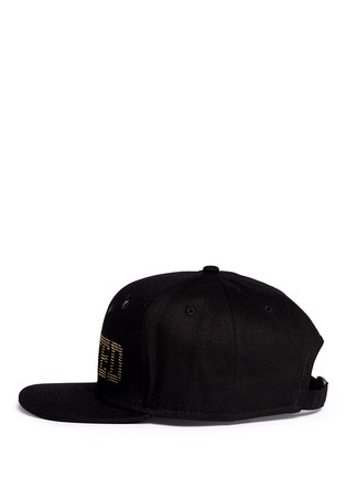 Figure View - Click To Enlarge - PIERS ATKINSON - 'Wanted' strass bullet hole baseball cap