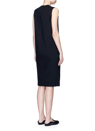 Back View - Click To Enlarge - THE ROW - 'Tottie' scuba jersey shift dress