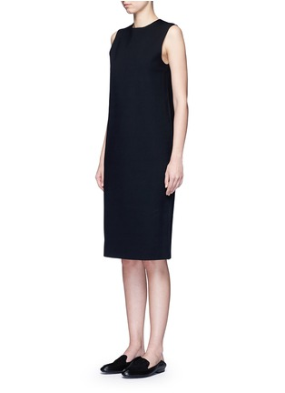Front View - Click To Enlarge - THE ROW - 'Tottie' scuba jersey shift dress