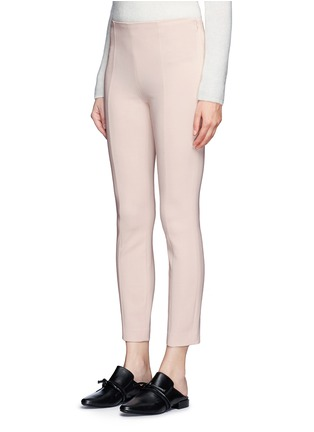 Front View - Click To Enlarge - The Row - 'Cosso' topstitch virgin wool pants