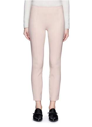Main View - Click To Enlarge - The Row - 'Cosso' topstitch virgin wool pants