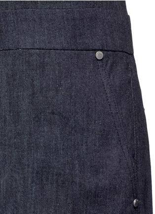 Detail View - Click To Enlarge - rag & bone - 'Gigi' tailored cotton denim romper
