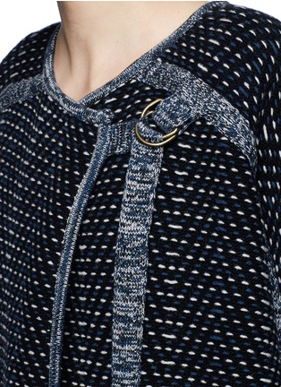 Detail View - Click To Enlarge - Chloé - Tweed effect wool-cashmere coat