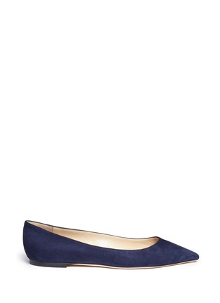 Main View - Click To Enlarge - Jimmy Choo - 'Romy' suede flats