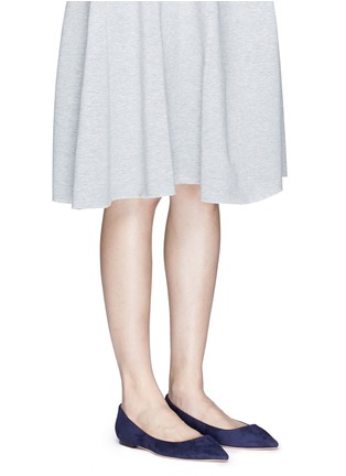 Figure View - Click To Enlarge - Jimmy Choo - 'Romy' suede flats