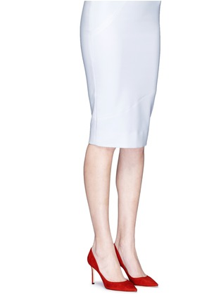 Figure View - Click To Enlarge - Jimmy Choo - 'Romy 85' suede pumps