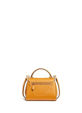 Back View - Click To Enlarge - Mark Cross - 'Hadley Baby' leather flap bag
