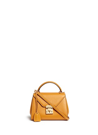 Main View - Click To Enlarge - Mark Cross - 'Hadley Baby' leather flap bag