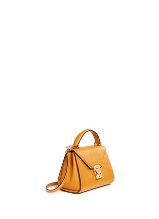 Figure View - Click To Enlarge - Mark Cross - 'Hadley Baby' leather flap bag