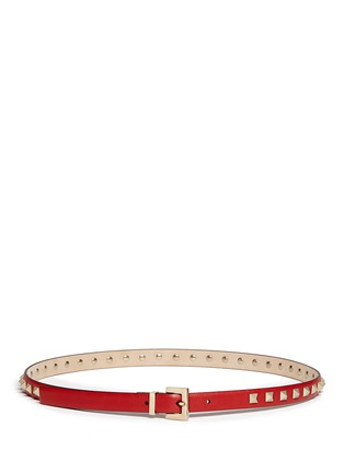Main View - Click To Enlarge - Valentino - 'Rockstud' leather belt