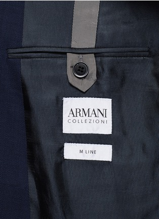 - Armani Collezioni - Virgin wool double breasted suit