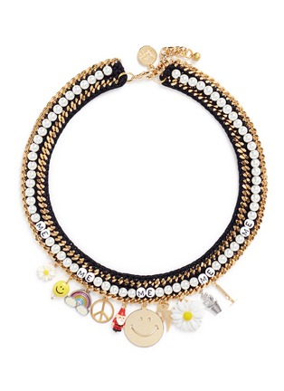 Main View - Click To Enlarge - Venessa Arizaga - 'Glowing Garden' necklace