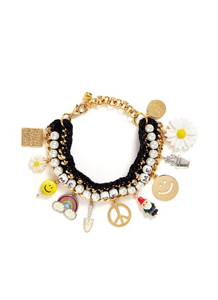 Main View - Click To Enlarge - Venessa Arizaga - 'Glowing Garden' bracelet