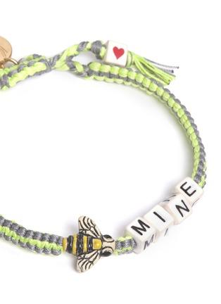 Detail View - Click To Enlarge - Venessa Arizaga - 'Bee Mine' bracelet