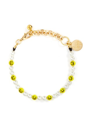 Main View - Click To Enlarge - Venessa Arizaga - 'All Smiles On Me' bracelet