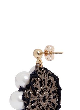 Detail View - Click To Enlarge - Venessa Arizaga - 'Sunshine Daisy' drop earrings