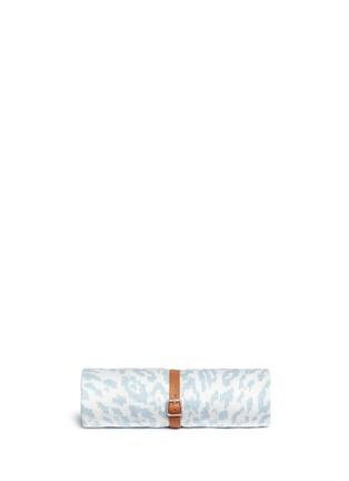 Main View - Click To Enlarge - Maslin & Co - Jaguar jacquard baby blanket