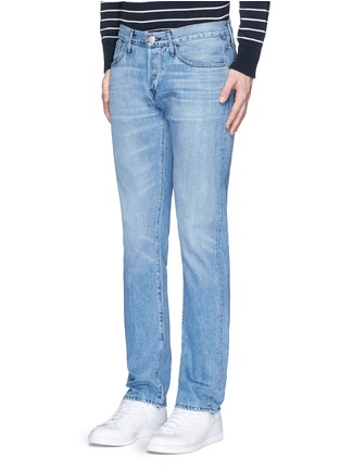 Front View - Click To Enlarge - 3X1 - 'M4' low rise straight leg jeans
