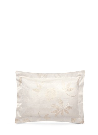 Main View - Click To Enlarge - Frette - Luxury Symphony Gold jacquard standard sham