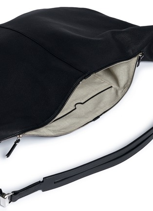 Detail View - Click To Enlarge - The Row - 'Sling 15' grainy leather hobo bag