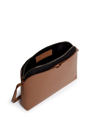 Detail View - Click To Enlarge - The Row - 'Multi-pouch' leather nylon shoulder bag