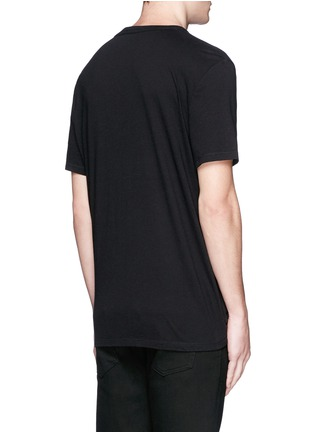Back View - Click To Enlarge - T By Alexander Wang - PIMA COTTON JERSEY T-SHIRT