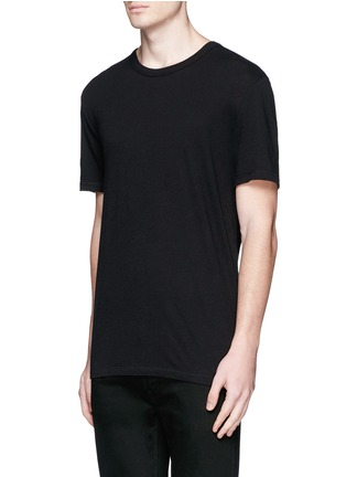 Front View - Click To Enlarge - alexanderwang.t - PIMA COTTON JERSEY T-SHIRT