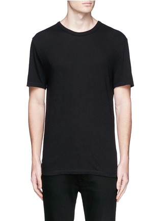 Main View - Click To Enlarge - T By Alexander Wang - PIMA COTTON JERSEY T-SHIRT