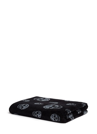 Main View - Click To Enlarge - Alexander McQueen - Allover skull beach towel