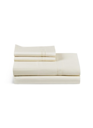 Main View - Click To Enlarge - Frette - Doppio Ajour queen size duvet set