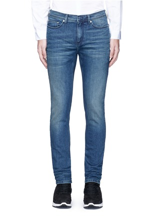 Detail View - Click To Enlarge - NEIL BARRETT - Skinny fit cotton denim jeans