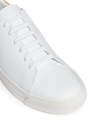 Detail View - Click To Enlarge - Anya Hindmarch - 'Wink' leather tennis shoes